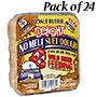 C&S Peanut Butter Delight No Melt Suet, 11.75 oz., 24 Cakes