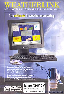 Davis WeatherLink Software for Emergency Response Teams (PC