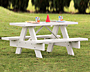 Dura-Trel Kid's Picnic Table, 4'