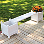Dura-Trel Small Planter Boxes and Seat Package