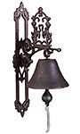 Esschert Design Cast Iron Classic Doorbell, Brown