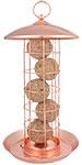 Esschert Design Copper Colored Suet Ball Feeder