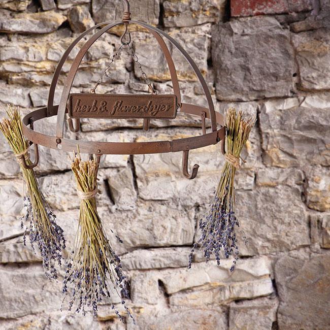 Esschert Design Cast Iron Herb And Flower Dryer At Bestnest Com
