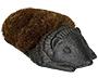 Esschert Design Cast Iron Small Hedgehog Boot Brush