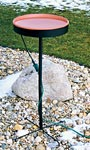 Farm Innovators Heated Bird Bath with Metal Stand