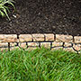 Gardeneer Stonewall Faux Stone Border Edges, Tan, Pack of 4