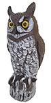"""Gardeneer Hand Painted Owl Scarecrow, 16"""""""