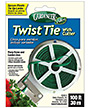 Gardeneer Twist Tie Plant Securer with Cutter, 100'