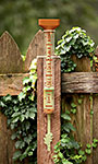 Garner Industries EZ Read Decorative Rain Gauge