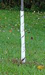 """Gardman Spiral Tree Wraps, White, 28"""", Pack of 250"""