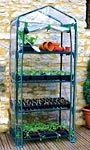 "Gardman Four Tier Mini Greenhouse, 63""H"