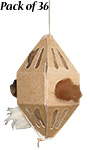 GreenBird Folding Nesting Material Holders, Club Pack of 36