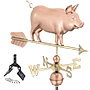 Good Directions Country Pig Weathervane with Roof Mount