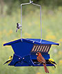 Double Sided Absolute II Bird Feeder, Electric Blue