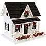 Home Bazaar Holiday Bird House with LEDs
