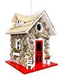 Home Bazaar Guest Cottage Stone Bird House