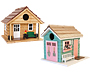Home Bazaar She Shed and Man Cave Bird House Package