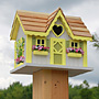 Home Bazaar Sweetheart Cottage Bird House