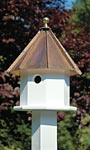 Heartwood Oct-Avian, Brown Copper Roof