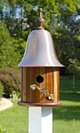 Heartwood Ivy Bird House, Mahogany