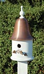 Heartwood Ivy Bird House, White