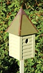 Heartwood Gatehouse Bird House, Celery