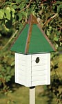 Heartwood Gatehouse Bird House, White