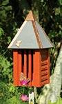 Heartwood Flutterbye House & Pole, Redwood