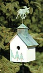 Heartwood Sleepy Hollow Bird House, Loose Moose