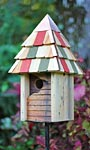 Heartwood Vintage Gatehouse Bird House