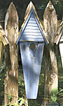 Heartwood Air Castle Bird House, Blue