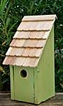 Heartwood Bluebird Bunkhouse Bird House, Green Apple