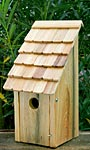 Heartwood Bluebird Bunkhouse Bird House, Natural
