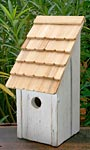 Heartwood Bluebird Bunkhouse Bird House, White