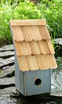Heartwood Fruit Coop Bird House, Blueberry
