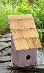 Heartwood Fruit Coop Bird House, Grape