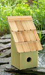 Heartwood Fruit Coop Bird House, Green Apple