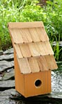 Heartwood Fruit Coop Bird House, Pumpkin