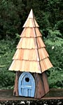 Heartwood Lord of the Wing Bird House, Blue