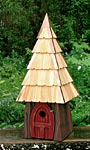 Heartwood Lord of the Wing Bird House, Redwood