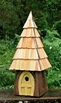 Heartwood Lord of the Wing Bird House, Yellow