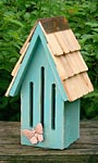 Heartwood Butterfly Breeze Butterfly House, Teal