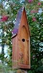 Heartwood American Classic Bird House, Mahogany