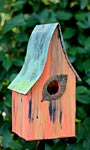 Heartwood Shady Shed Bird House, Mango