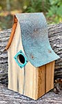 Heartwood Shady Shed Bird House, Natural
