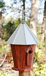 Heartwood InnSpire Bird House with Galvanized Metal Roof