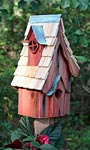 Heartwood Boyds' Bungalow Bird House, Redwood