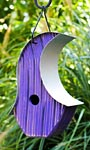Heartwood Mod Pod Bird House, Purple