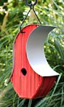 Heartwood Mod Pod Bird House, Red