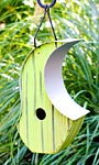 Heartwood Mod Pod Bird House, Citrus